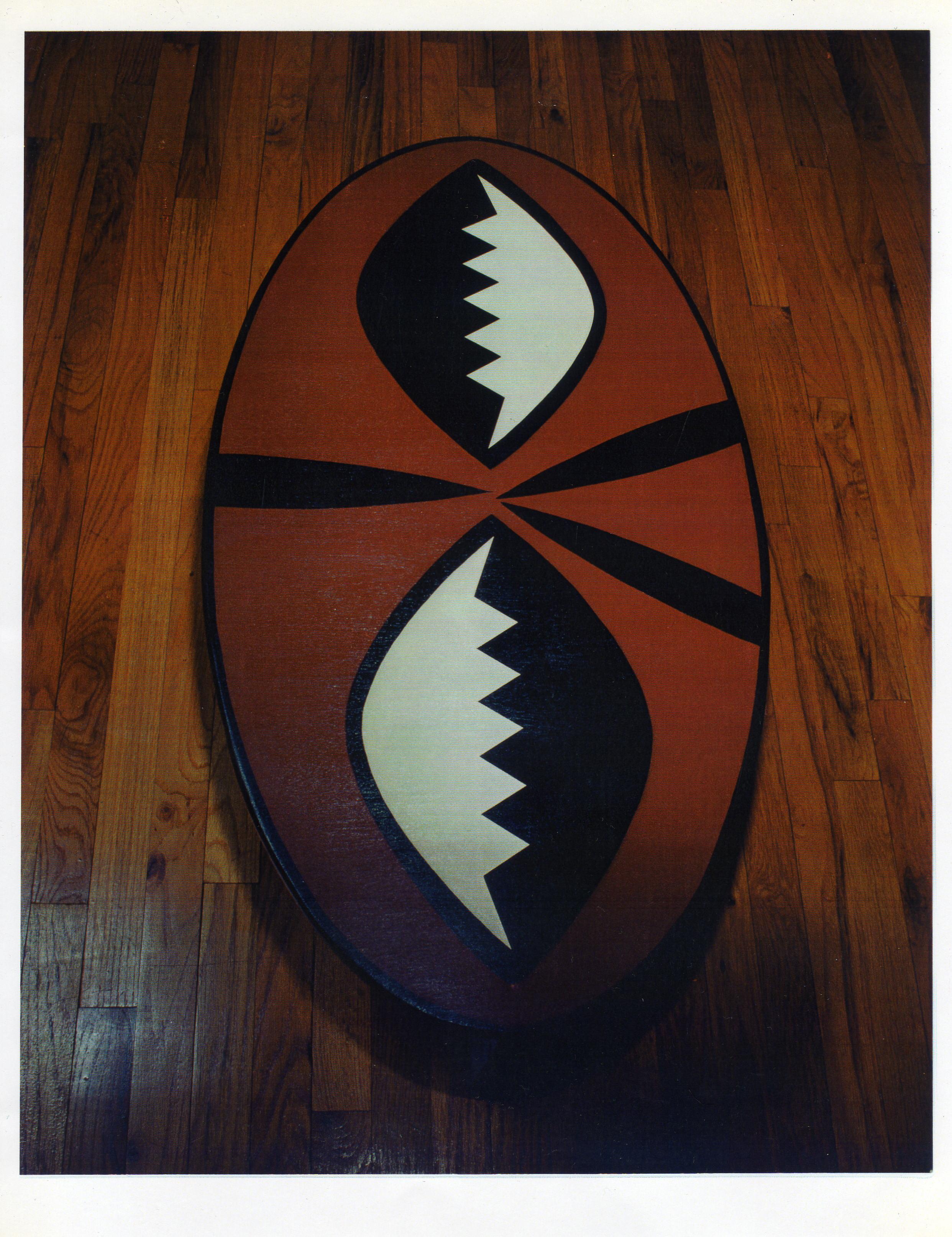 Maasai Shield Emblem Tables – Lucian Pinckney, ARTIST